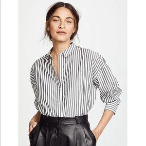 Nili Lotan- Fulton shirt striped button down